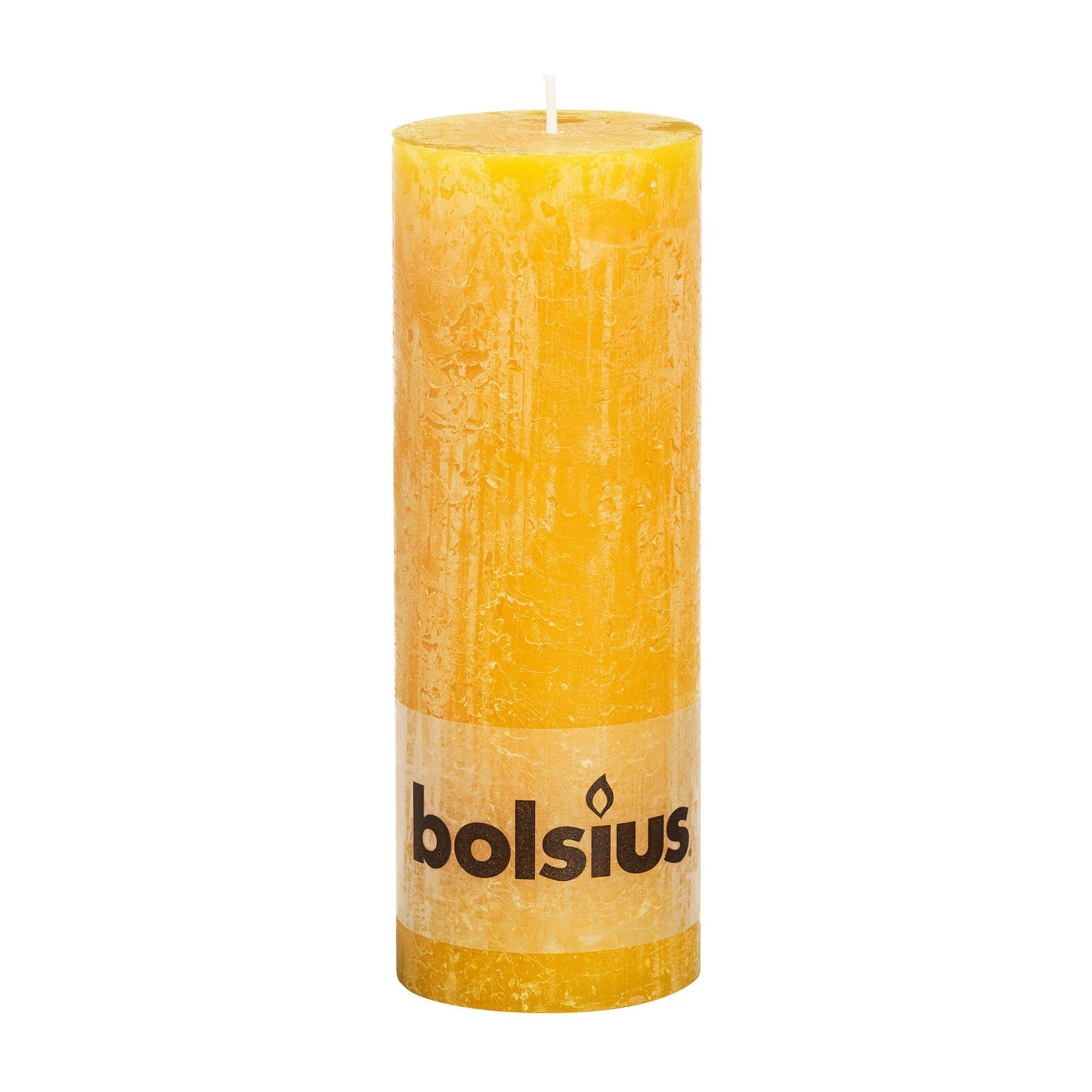 Фото - Свеча Bolsius block Rustic Metallic 19x6,8 см орха желтая свеча bolsius rustic metal gold 8х6 8 см