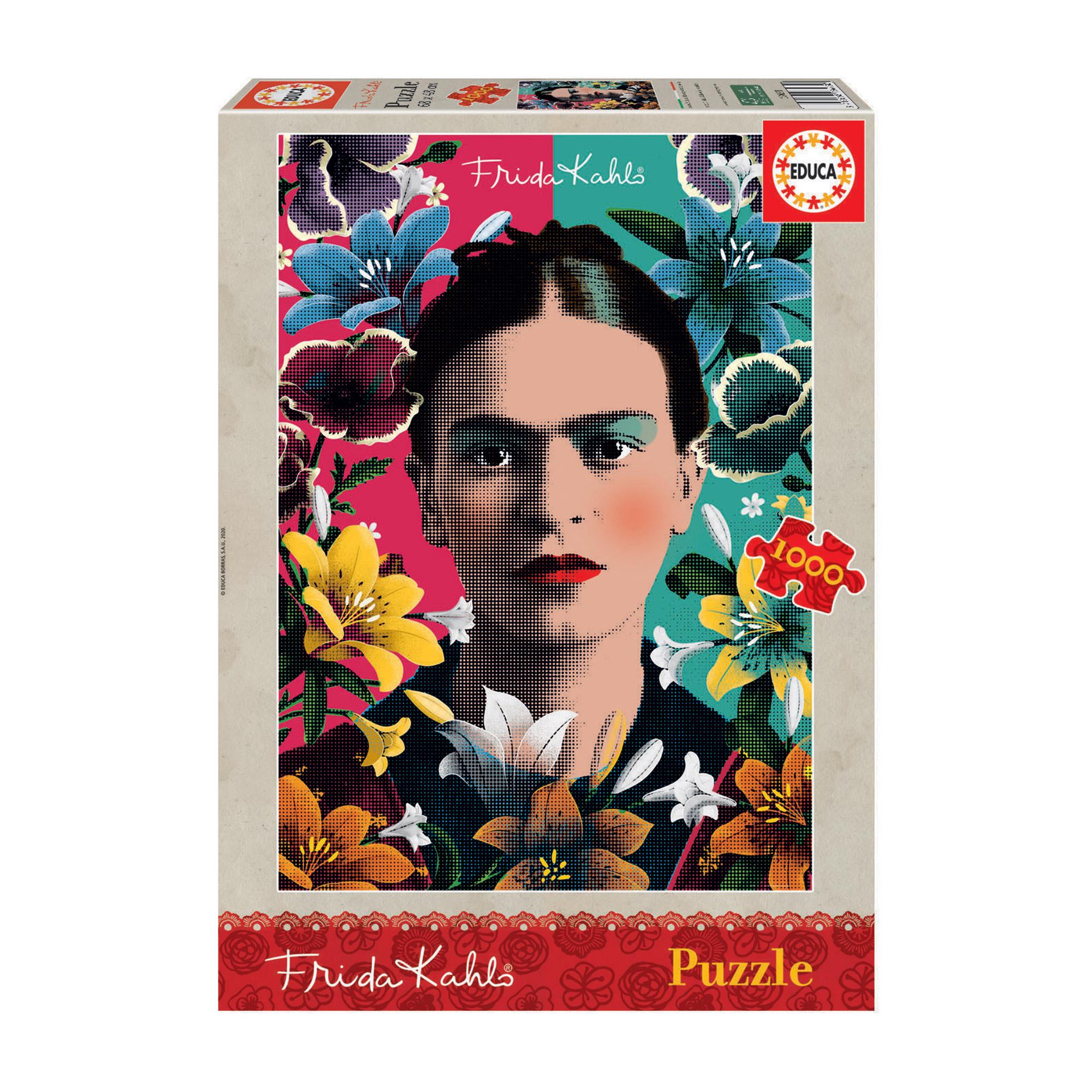 Фото - Пазл Educa Фрида Кало 1000 деталей пазл educa мир банкнот 1000 деталей