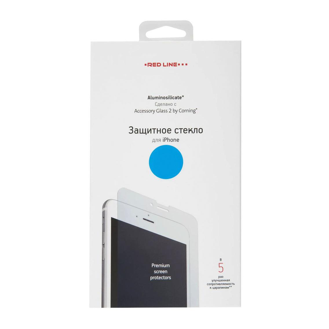 Фото - Защитное стекло Red Line Corning Tempered Glass для Apple iPhone 12/12 Pro защитное стекло red line corning full screen для apple iphone 12 pro черный