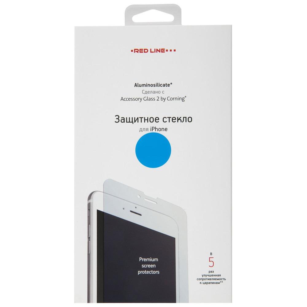 Фото - Защитное стекло Red Line Corning tempered glass для Apple iPhone 12 Pro Max защитное стекло red line corning full screen для apple iphone 12 pro черный