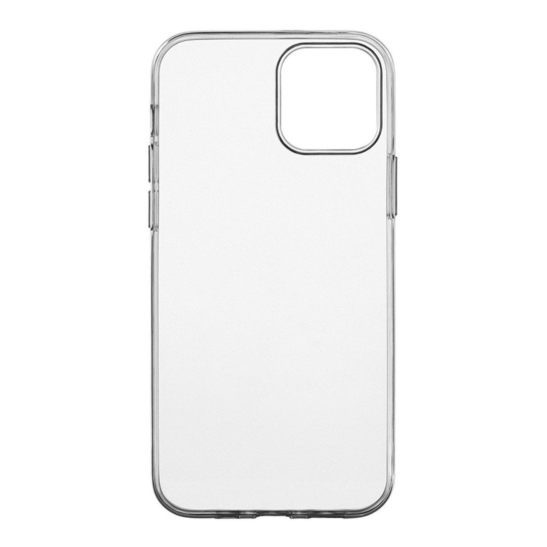 Чехол uBear Tone Case для смартфона Apple iPhone 12/12 Pro, прозрачный текстурированный чехол ubear tone case для apple iphone xs max прозрачный