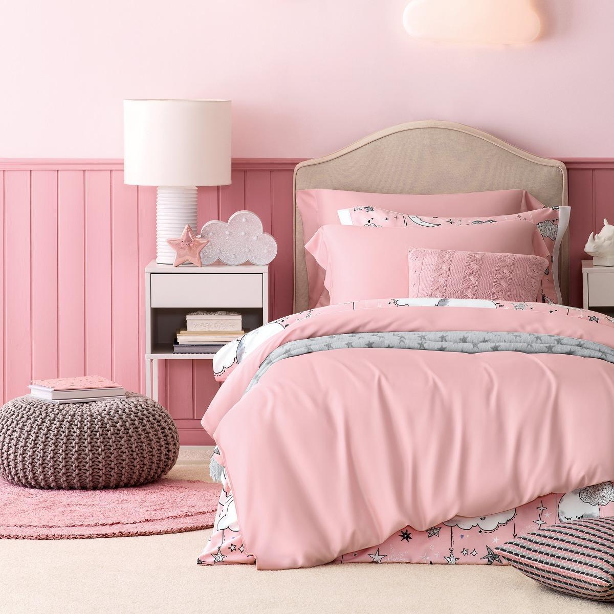 Постельный комплект Kids by togas Сенса розовый детский