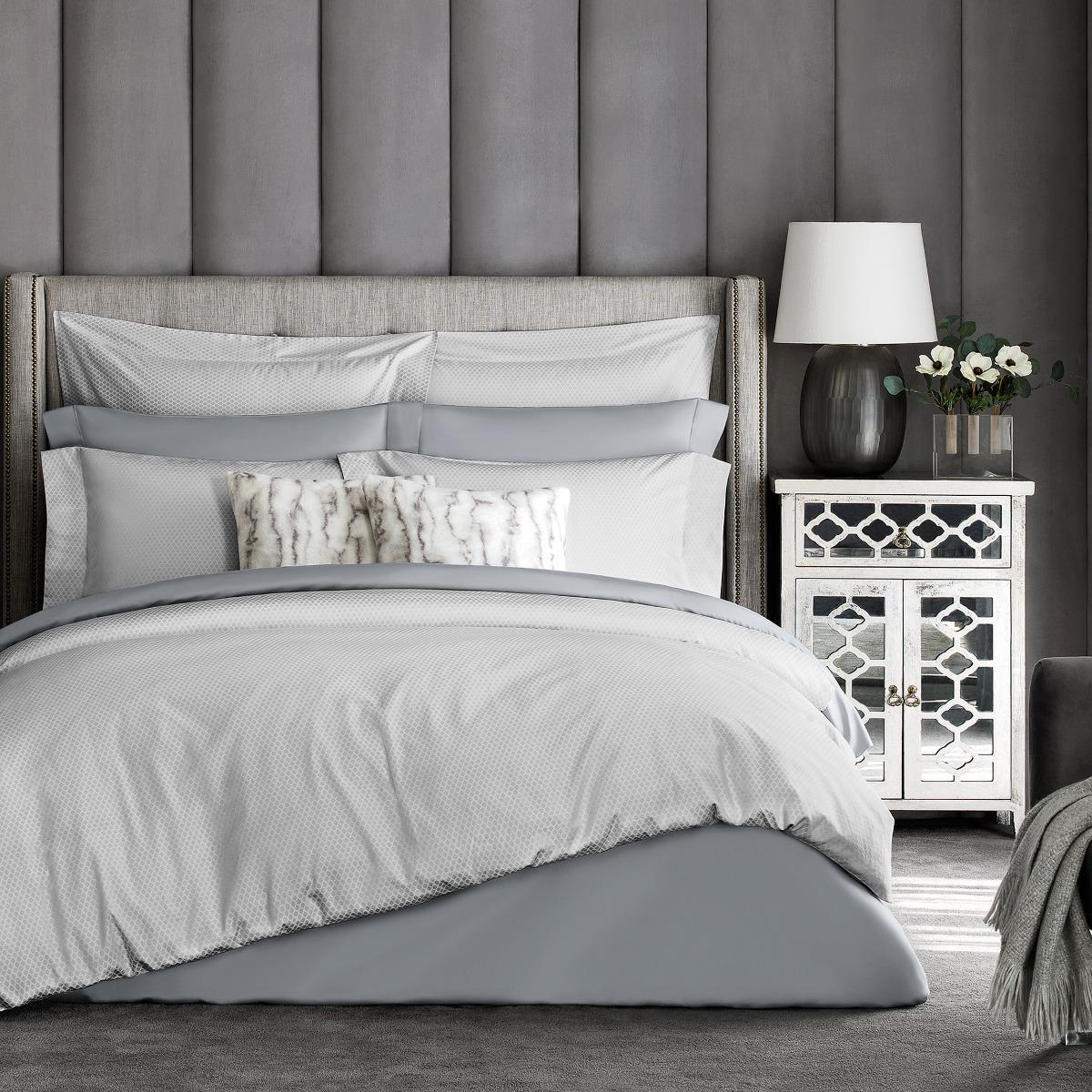 Фото - Постельный комплект Togas Блейк светло-серый семейный/дуэт постельный комплект togas кеннет темно синий семейный дуэт