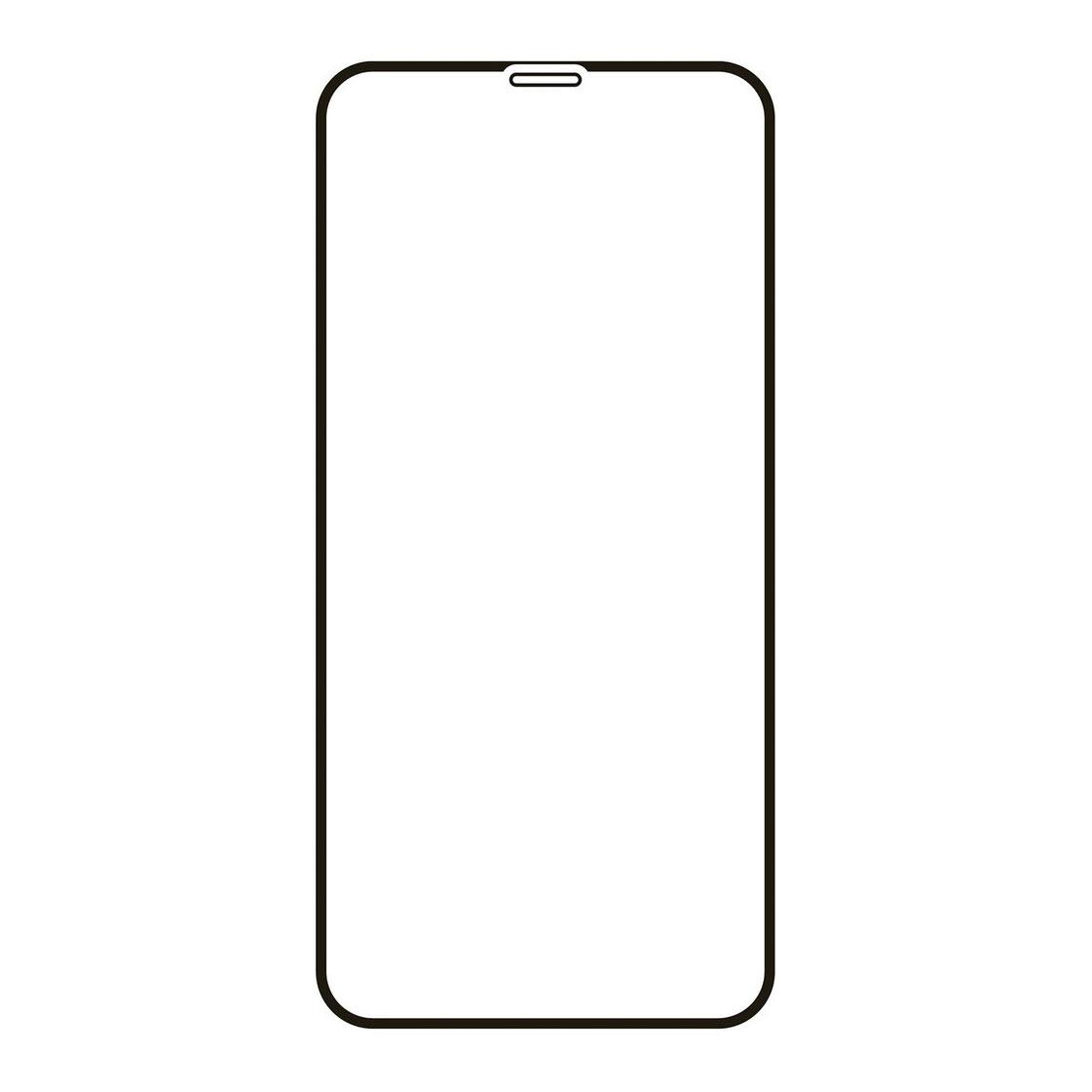 Защитное стекло VLP для Apple iPhone 12 Pro Max, чёрная рамка