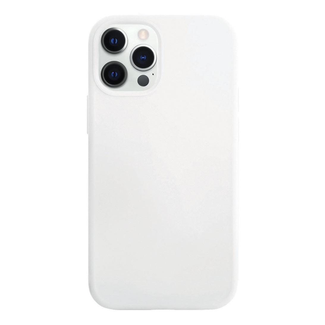 Чехол VLP Silicone Case для смартфона Apple iPhone 12/12 Pro, белый