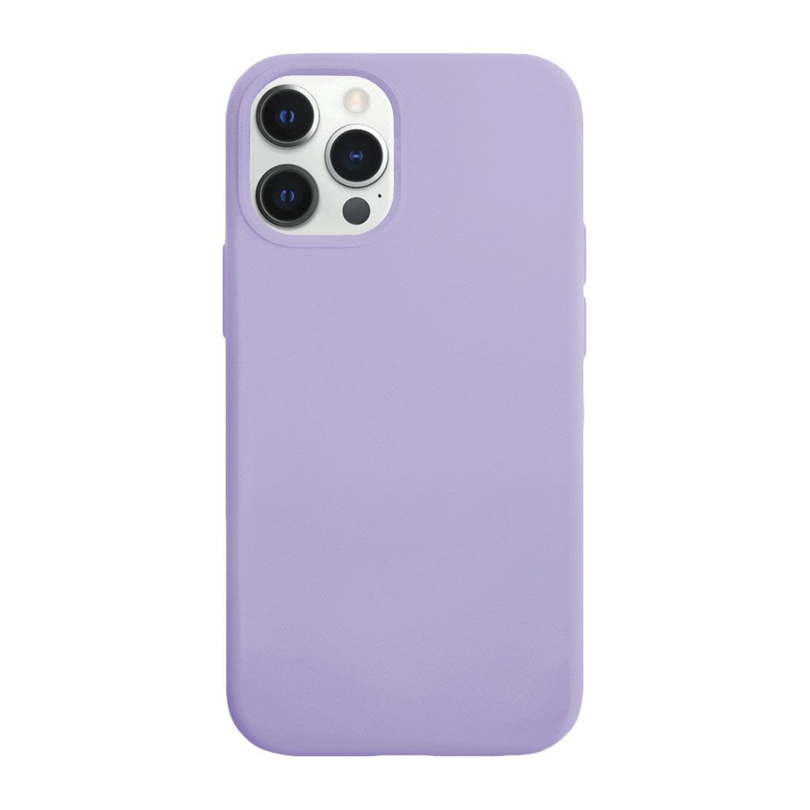 Чехол VLP Silicone Case для смартфона Apple iPhone 12/12 Pro, фиолетовый