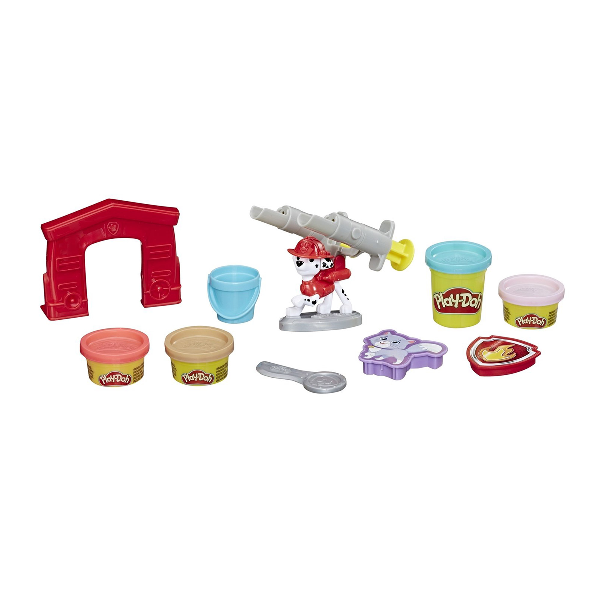 Фото - Набор игровой Play-Doh Щенячий патруль Маршалл игровой набор специальной массы hasbro play doh wheels e4508