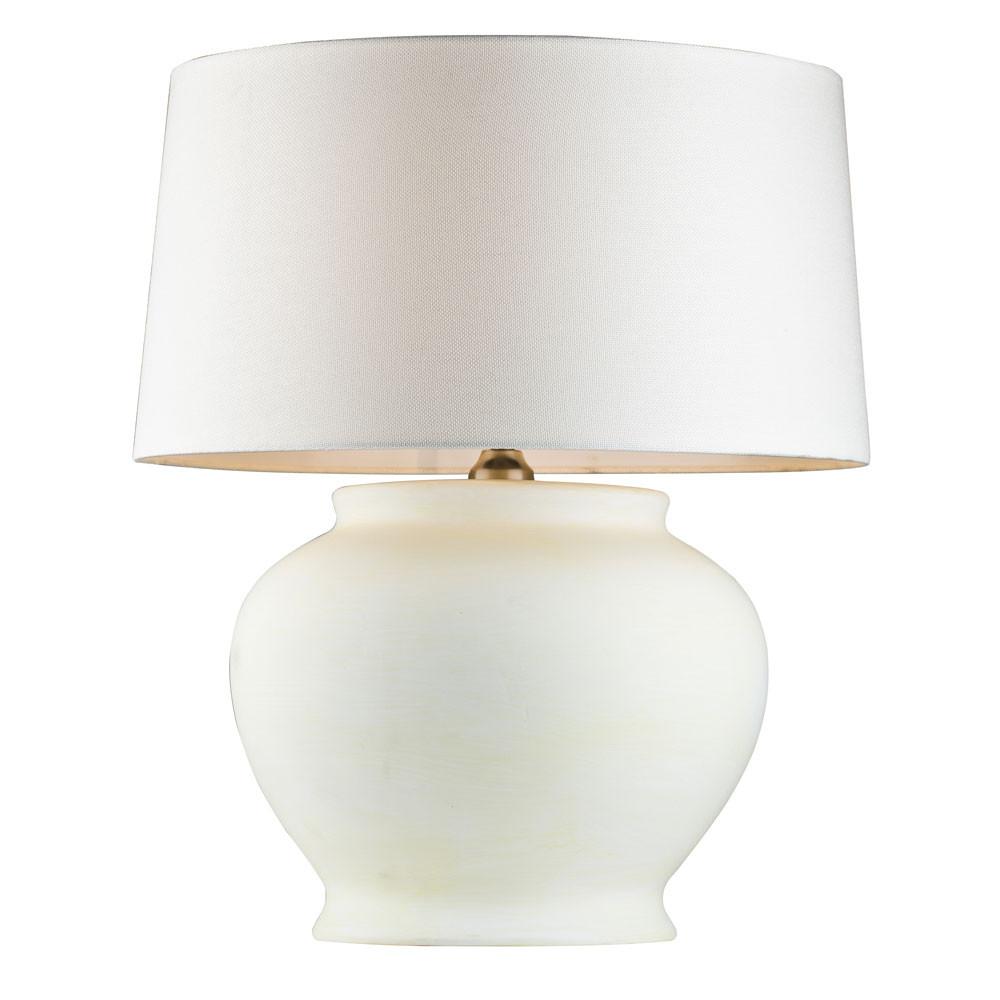 Фото - Лампа настольная Lucia tucci белая 58х48 настольная лампа lucia tucci harrods t942 1 60 вт