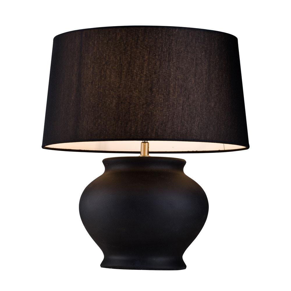 Фото - Лампа настольная Lucia tucci черная 42х38 настольная лампа lucia tucci harrods t942 1 60 вт