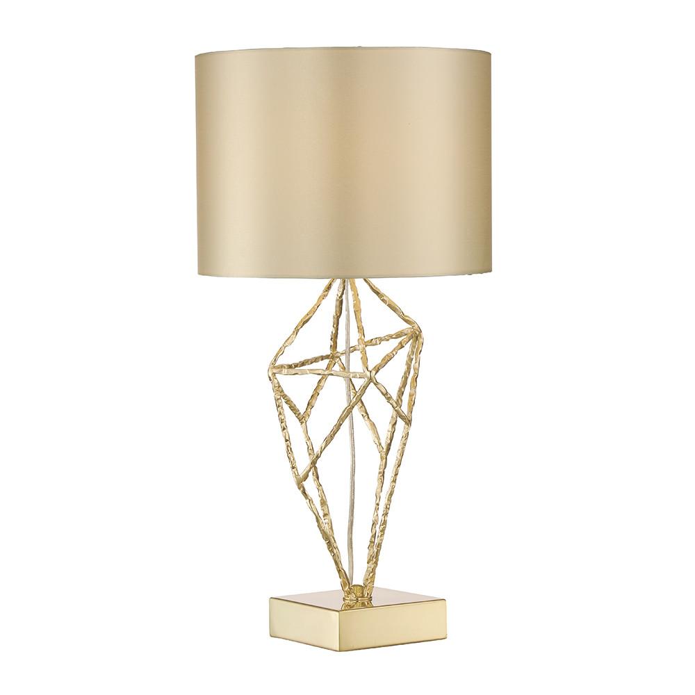 Фото - Лампа настольная Lucia tucci золотая 56.4х30 настольная лампа lucia tucci harrods t942 1 60 вт