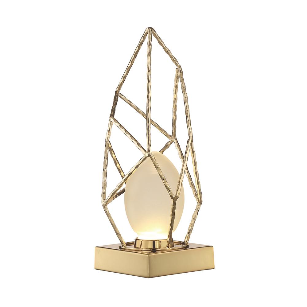 Фото - Лампа настольная Lucia tucci золотая 41х22.4 настольная лампа lucia tucci harrods t942 1 60 вт