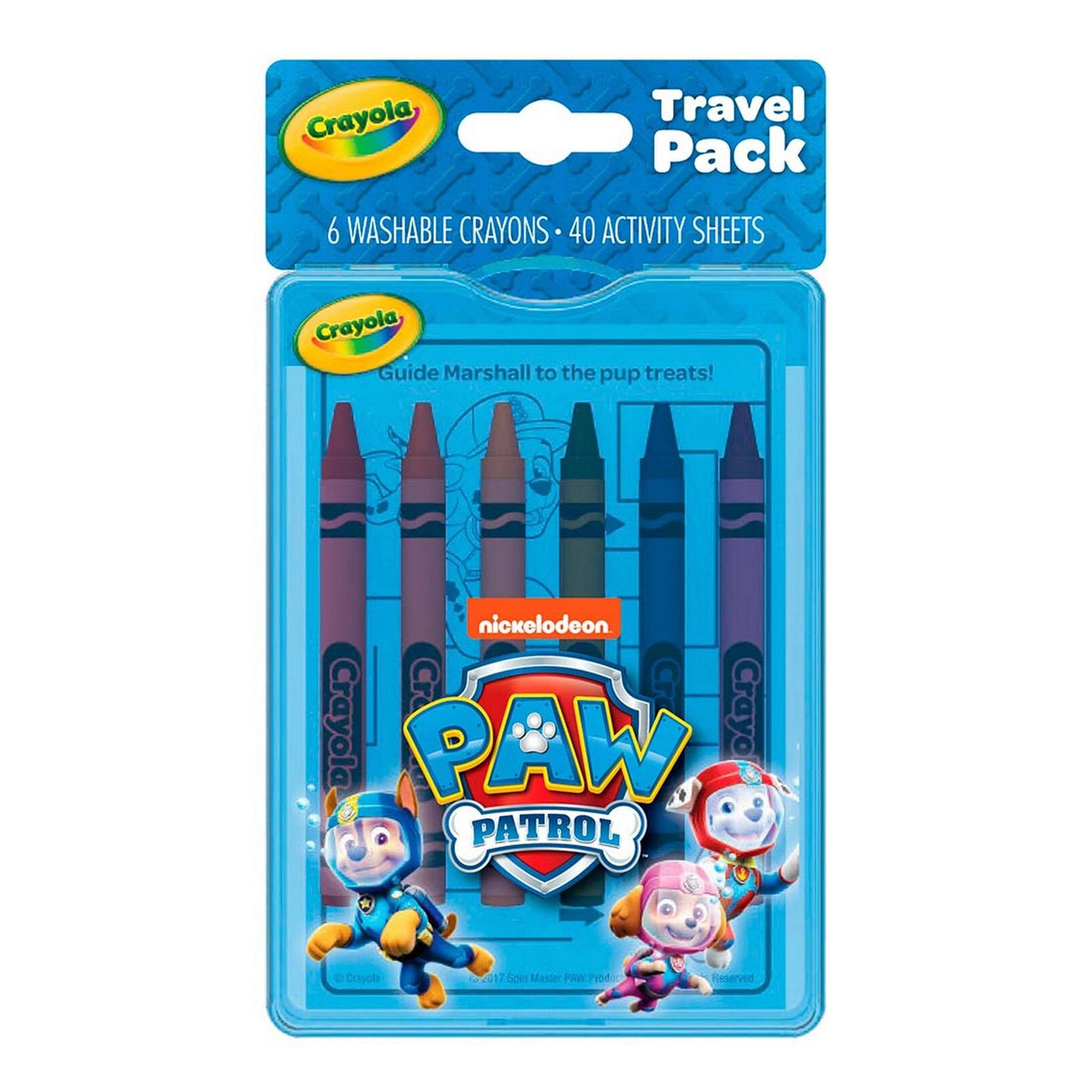 Дорожный набор для творчества Crayola Щенячий патруль.