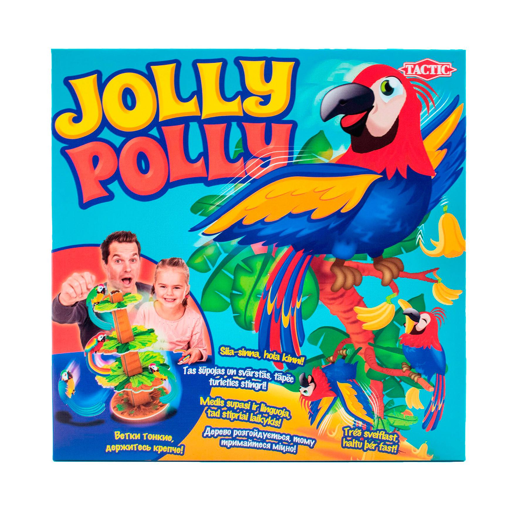 игра настольная развивающая для детей tactic коралловый риф Игра настольная Tactic Games Джоли Поли