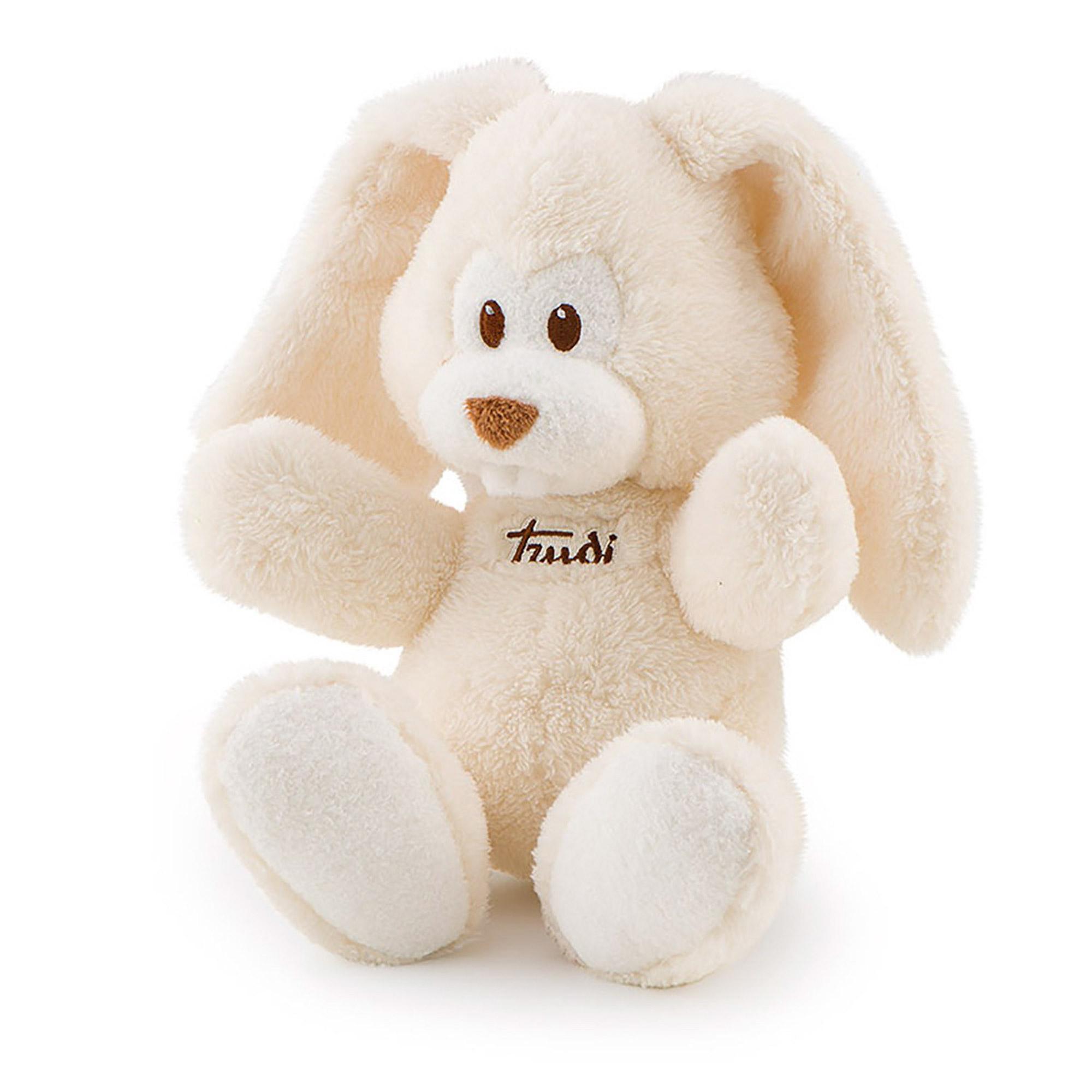 Игрушка мягкая Trudi Заяц Вирджилио Кремовый мягкая игрушка trudi заяц белый 28 см