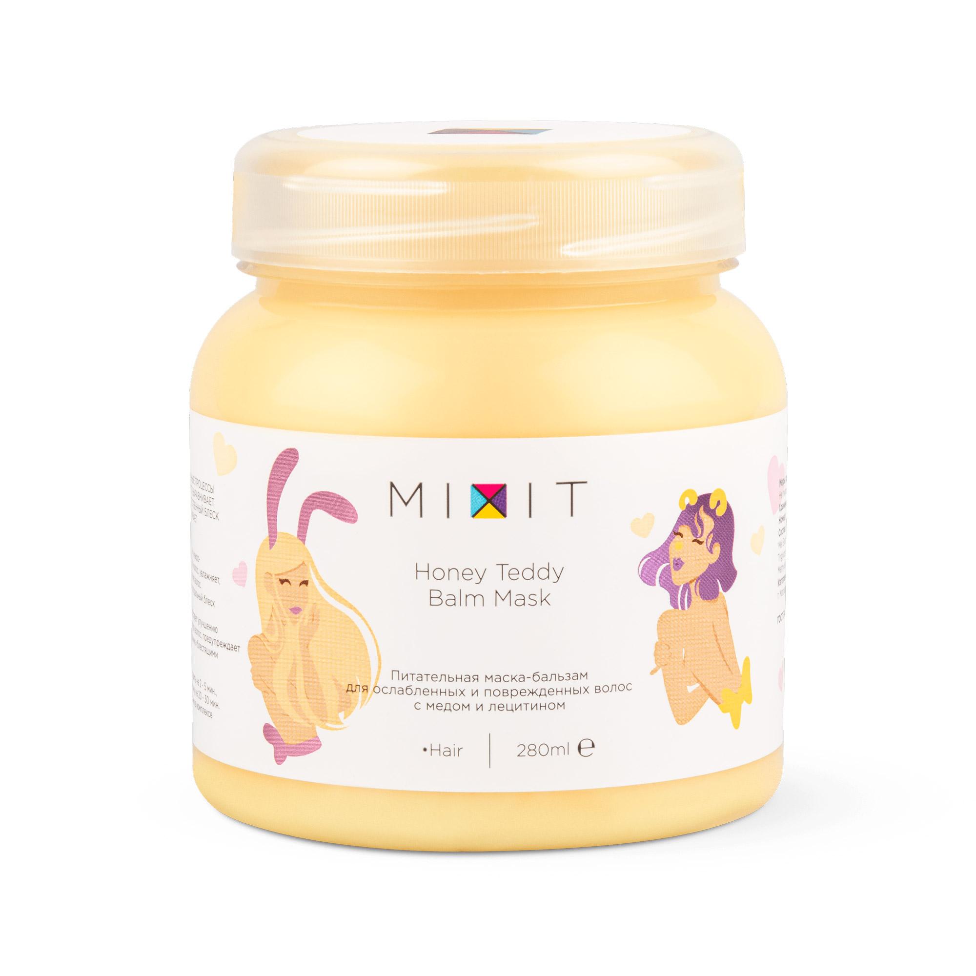 Маска-бальзам питательная Mixit Hunny Bunny Mask для ослабленных волос 280 мл