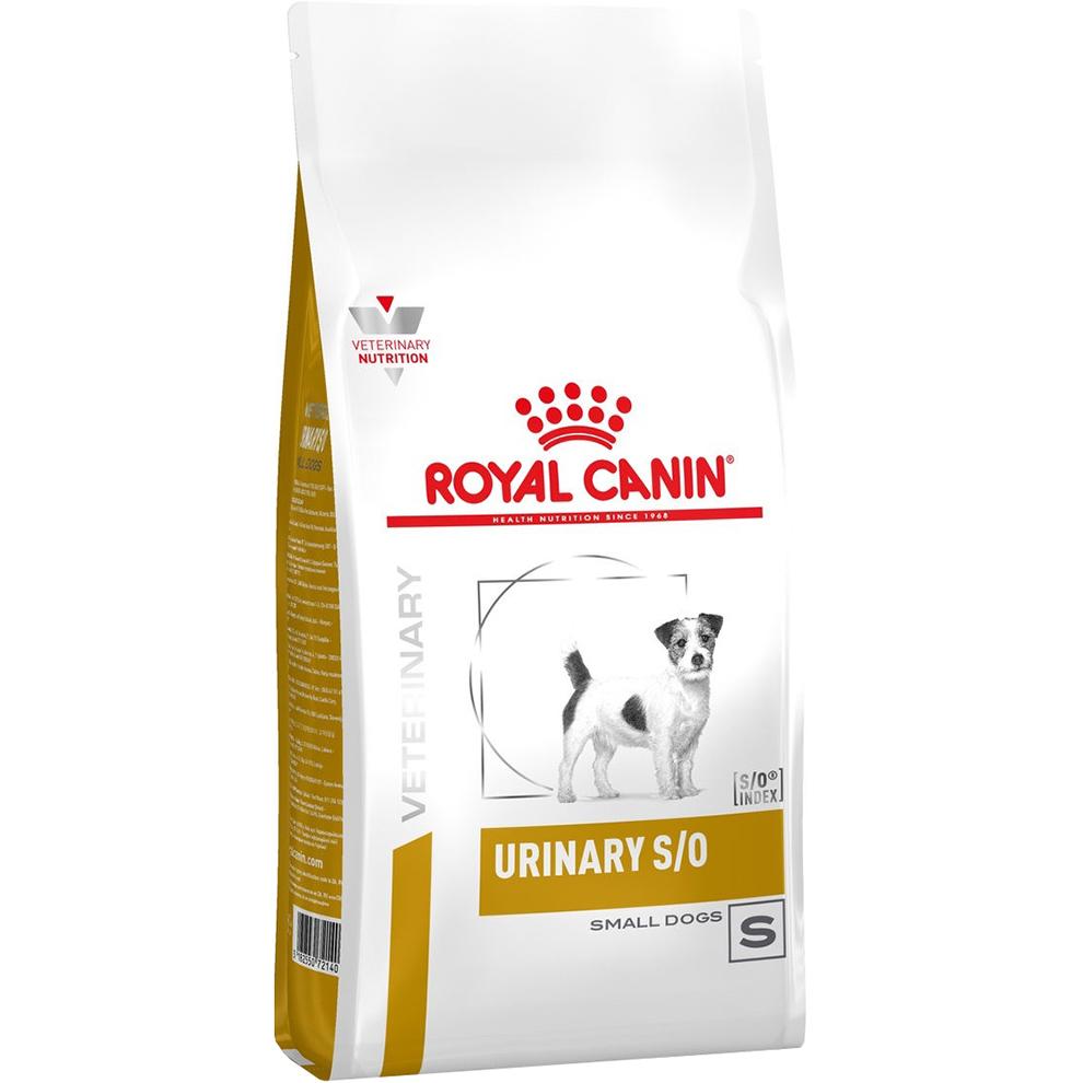 Корм для собак Royal Canin Veterinary Diet Urinary S/O Small Dog USD20 до 10 кг При мочекаменной болезни 1,5 кг недорого