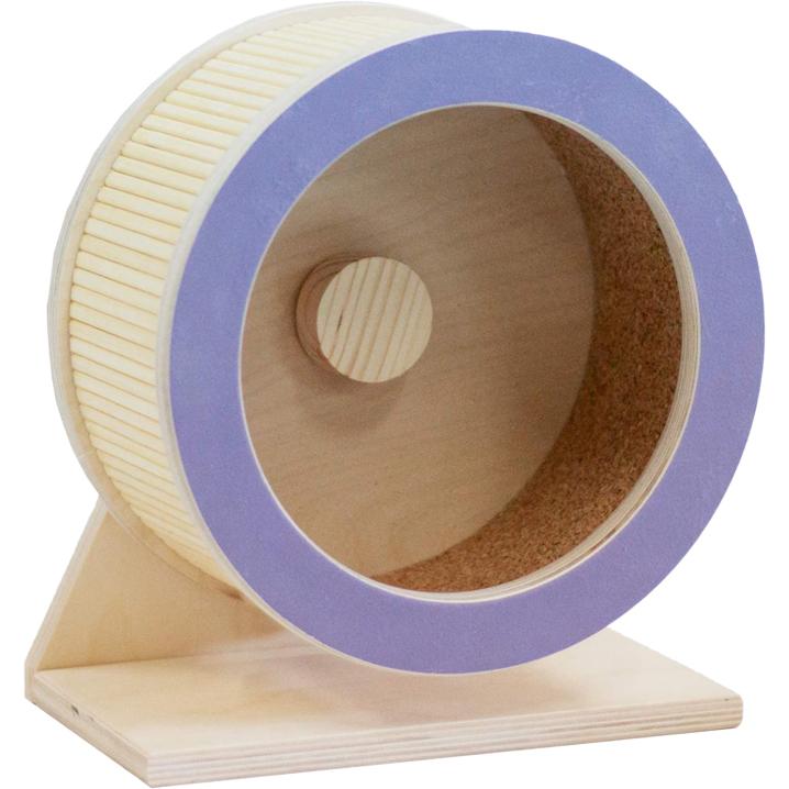 Колесо для грызунов DoradoWooD деревянное 22 см