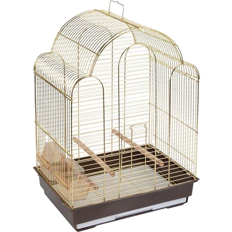 Клетка для птиц Triol 9100G 42х30х56 см