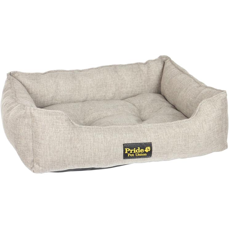 Лежак для животных Pride Colour Прованс 60х50х18 см песочный.
