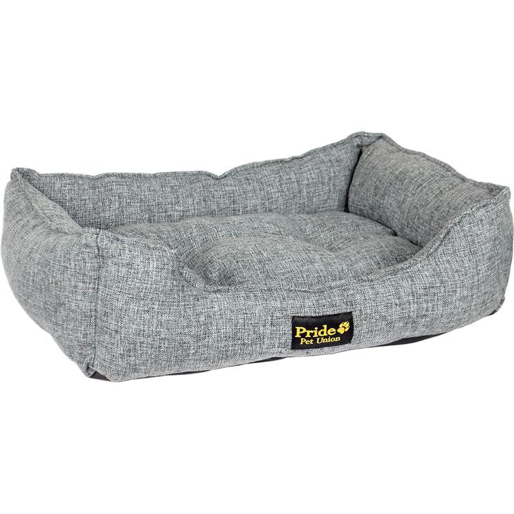 Лежак для животных Pride Colour Прованс 60х50х18 см серый.