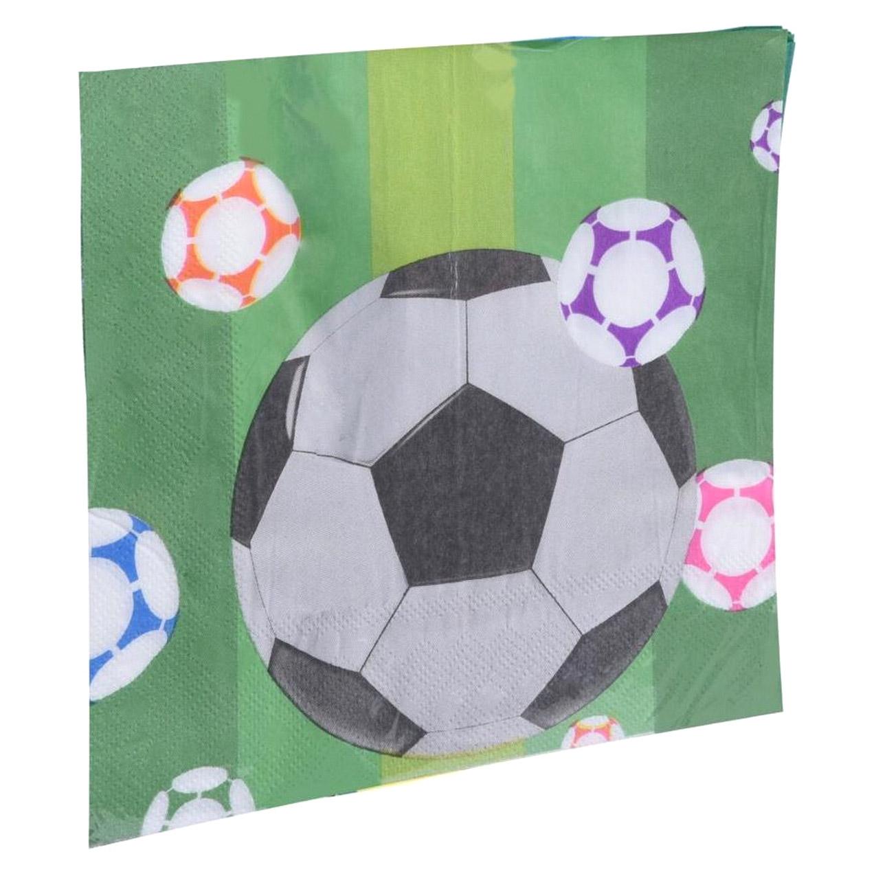 Салфетки Koopman party Футбол в количестве 16 шт