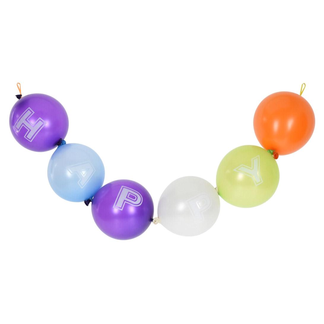 Шарики надувные Koopman party разноцветные 25 см