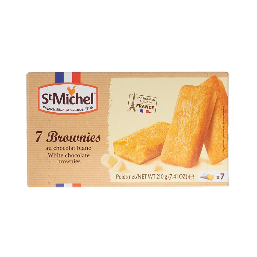Пирожное StMichel Брауни с белым шоколадом 210 г