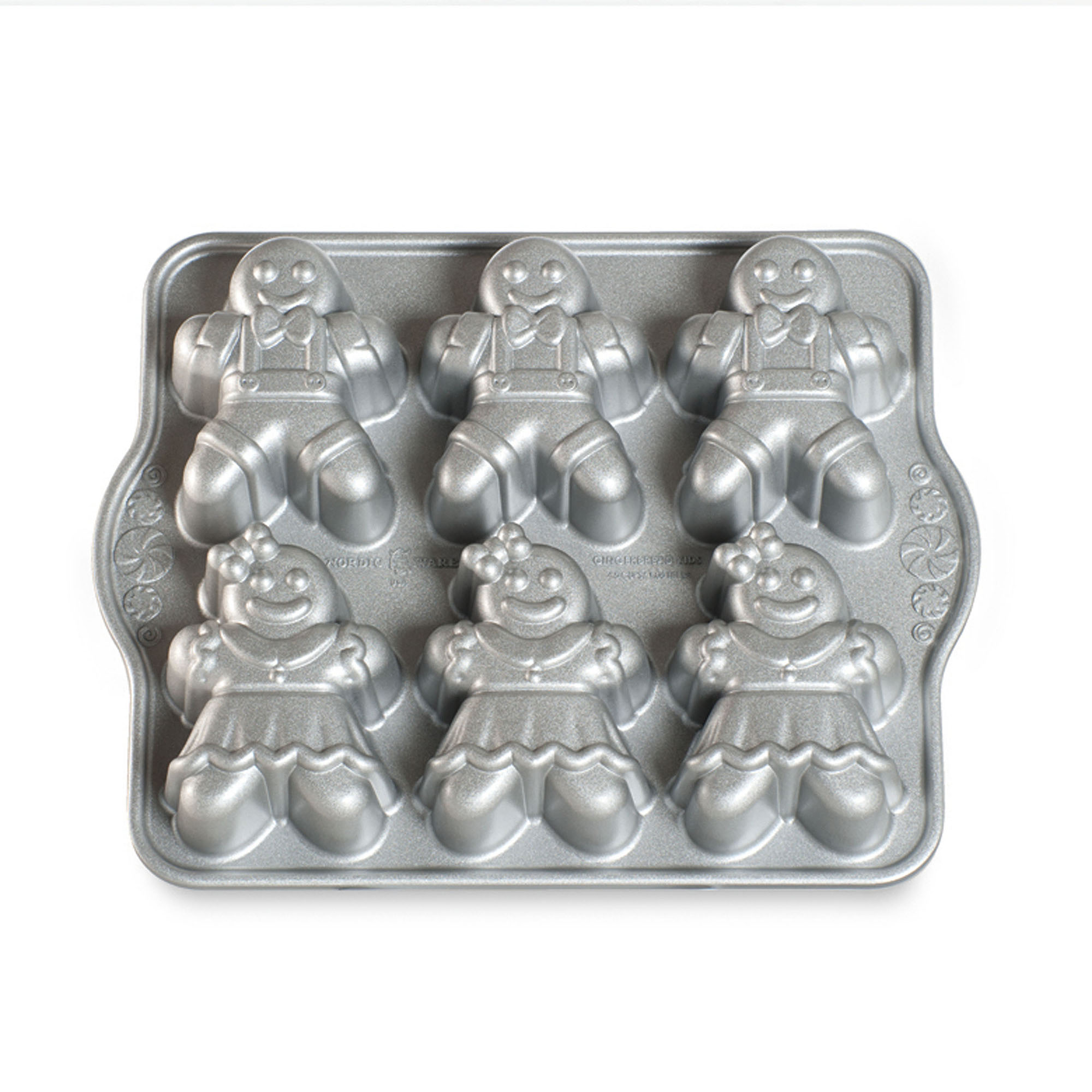 Форма для выпечки Nordic ware Пряничные человечки 1100 мл makers ware