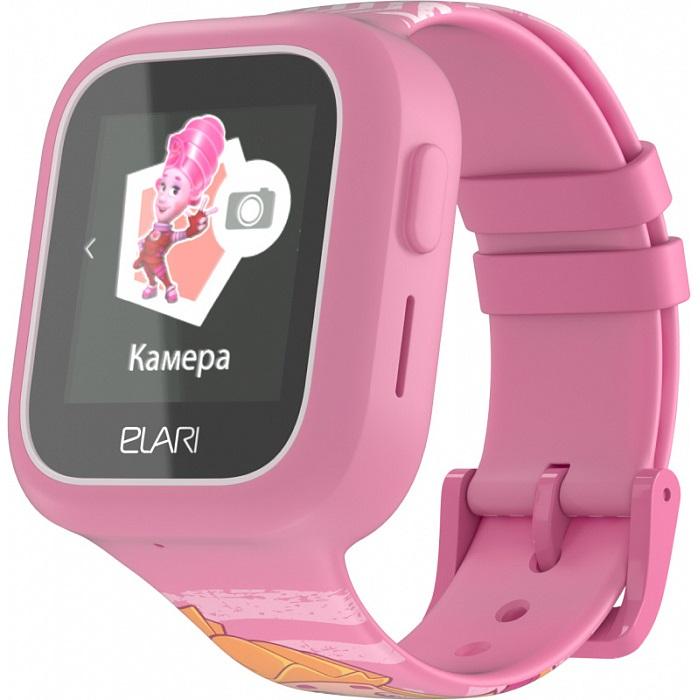 Фото - Смарт-часы Elari FixiTime Lite Pink смарт часы apple watch se gps 44 мм pink sand mydr2ru a