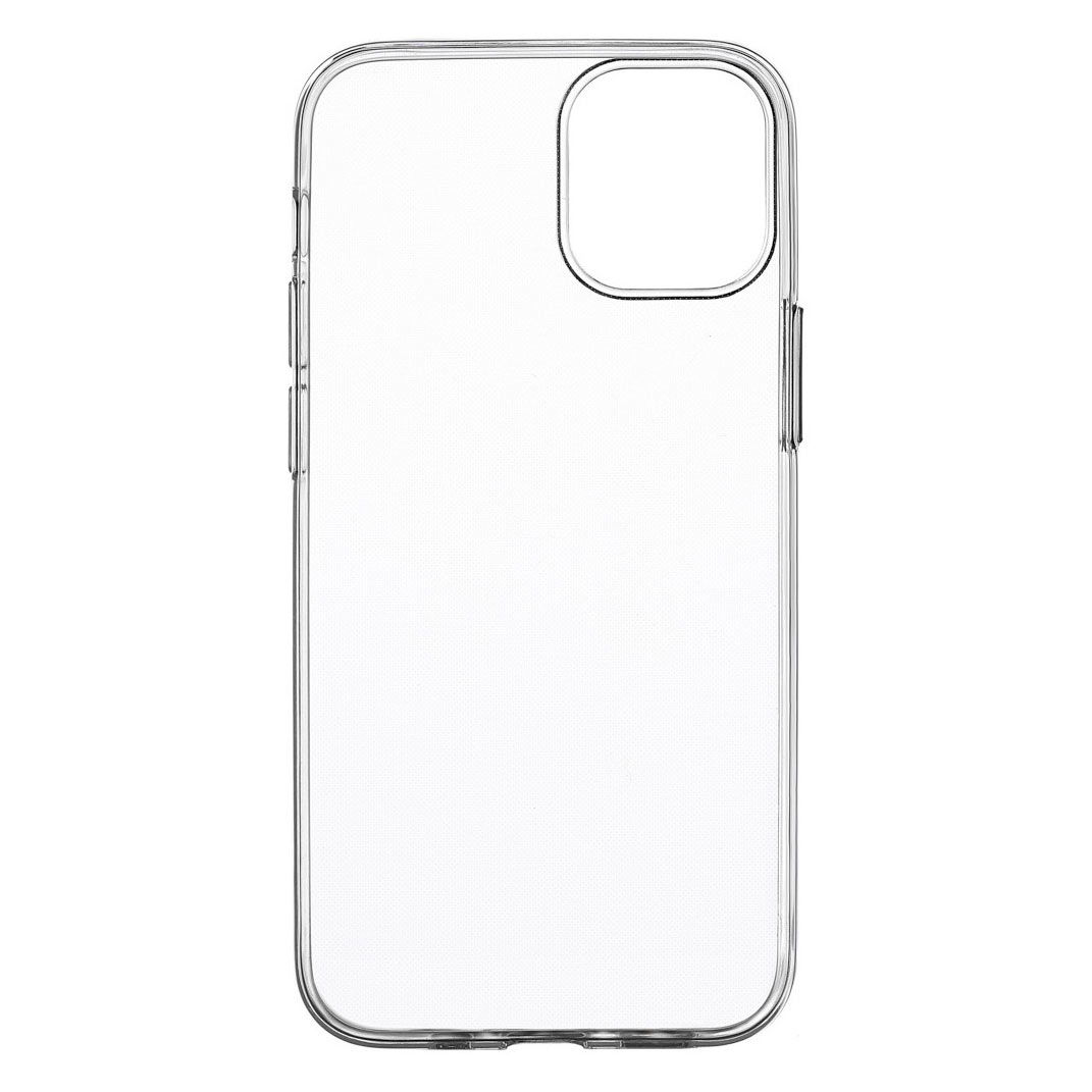Чехол uBear Tone Case для смартфона Apple iPhone 12 Pro Max, прозрачный текстурированный чехол ubear tone case для apple iphone xs max прозрачный