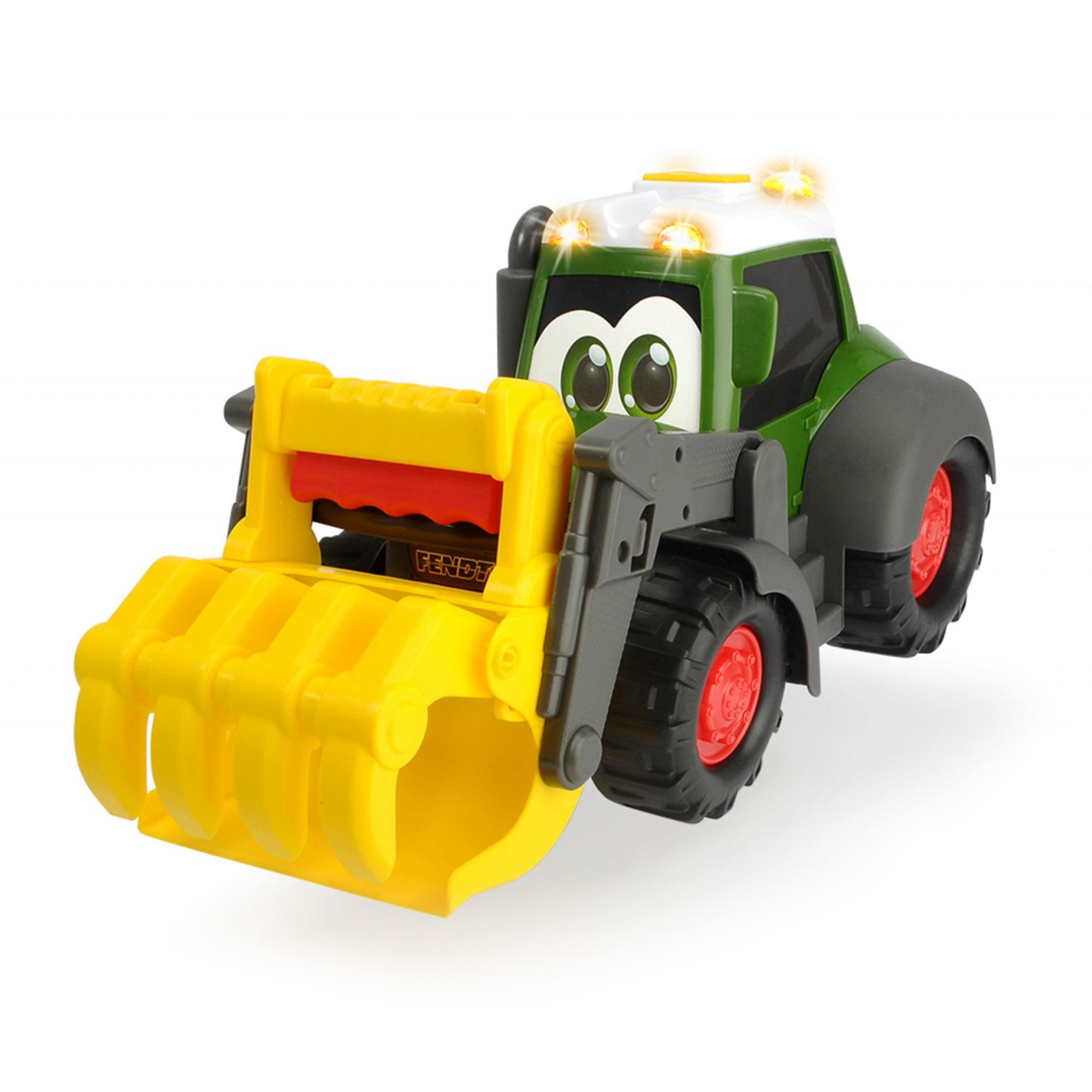 Фото - Машинка Dickie Toys Погрузчик Happy Fendt Worker 30 см погрузчик dickie toys дорожно погрузочная машина 3726000 35 см желтый белый