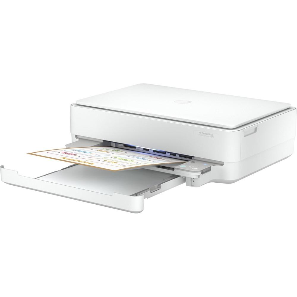 Фото - МФУ HP DeskJet Plus Ink Advantage 6075 мфу hp deskjet plus ink advantage 6075 белый