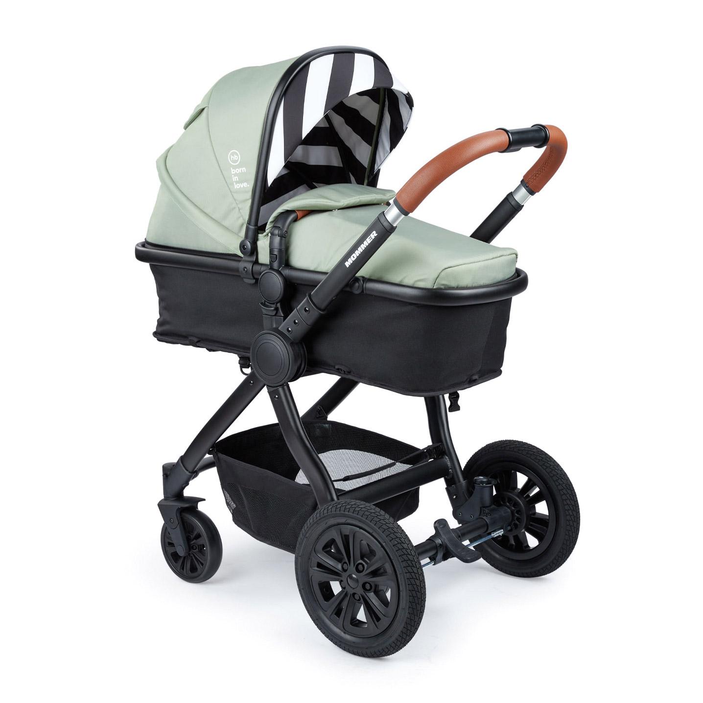 Коляска-трансформер Mommer dark green коляска happy baby luna blue