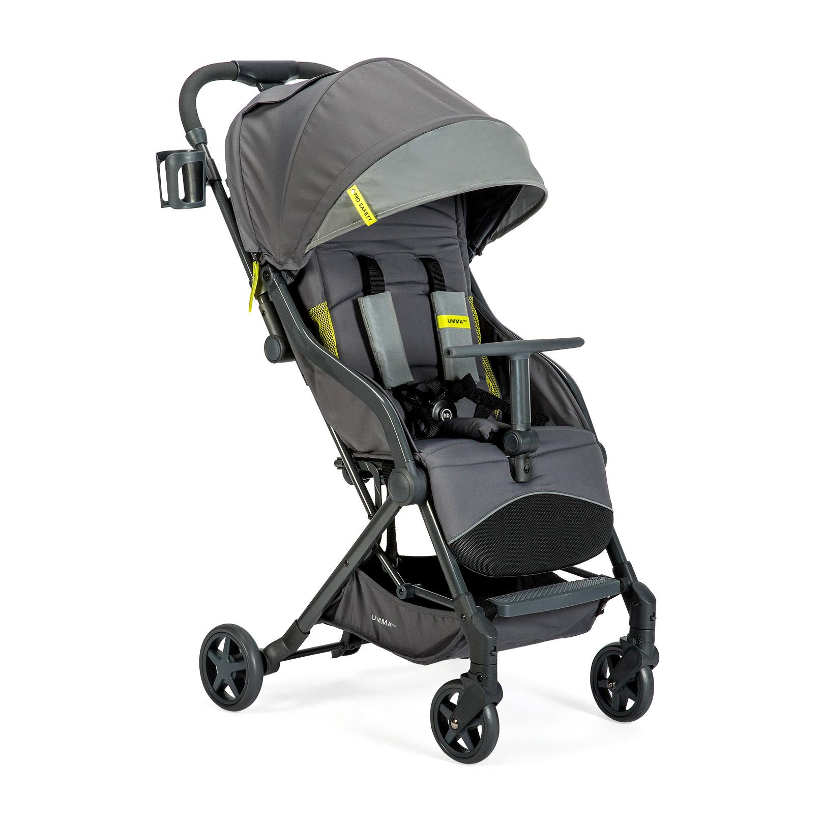 Коляска прогулочная Umma Pro graphite коляска happy baby luna blue
