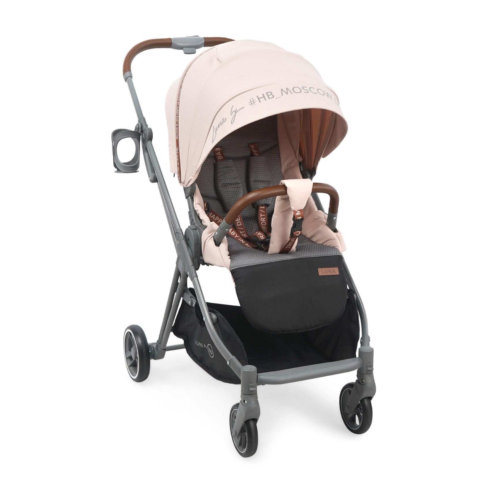 Коляска прогулочная Luna pink коляска happy baby luna blue