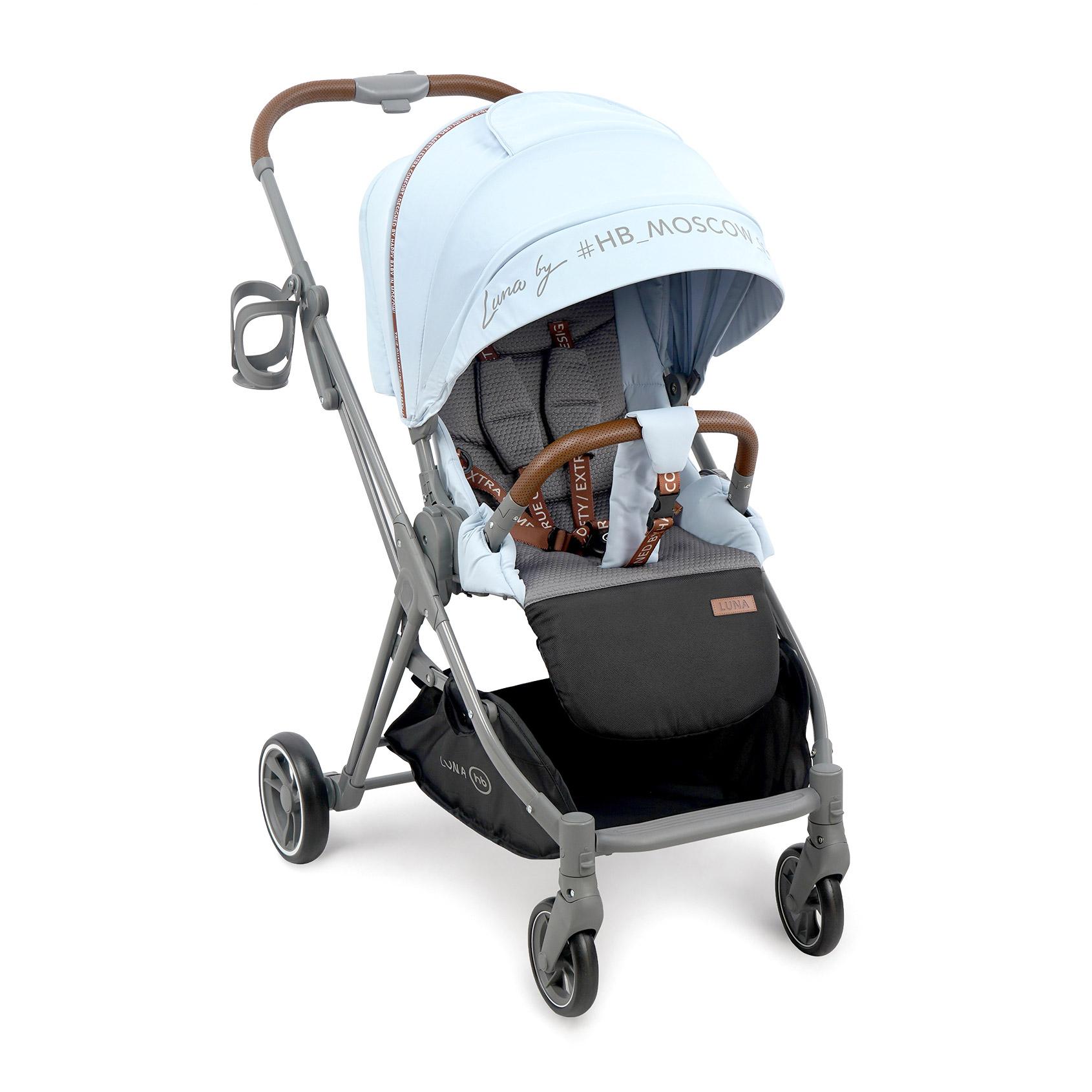 Коляска прогулочная Luna blue коляска happy baby luna blue