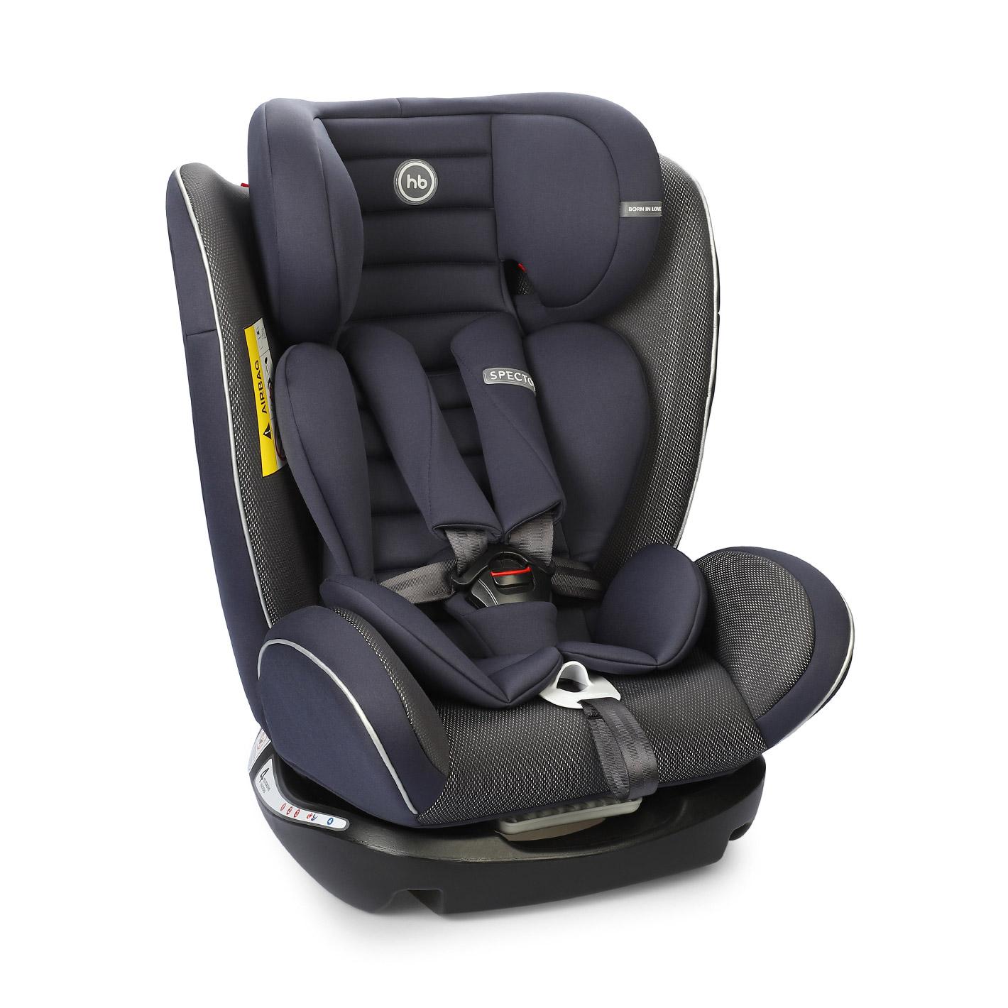 Автокресло Happy Baby Spector navy blue коляска happy baby luna blue