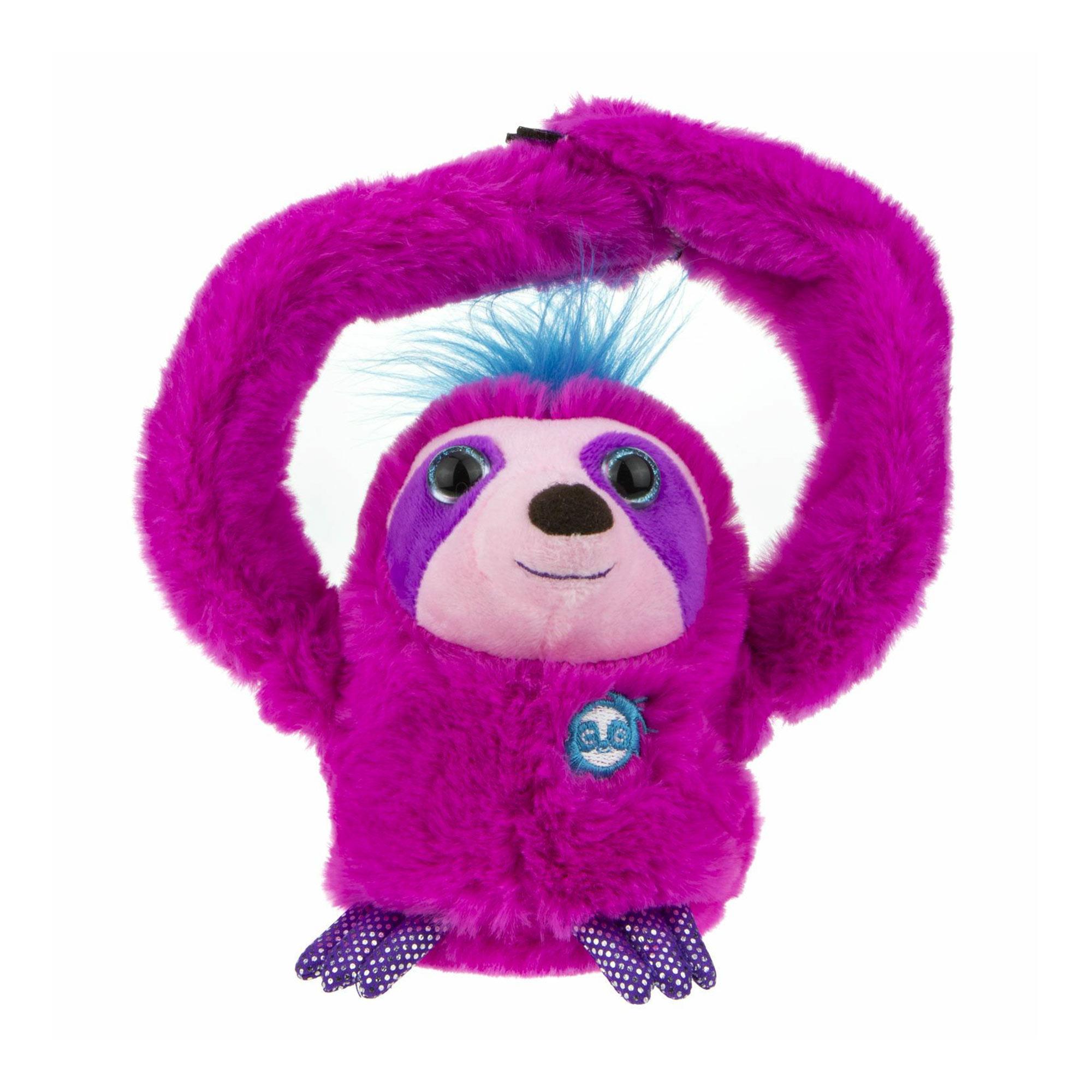 Фото - Интерактивная игрушка 1Toy Ленивец розовый игрушка интерактивная 1toy robo pets робо щенок розовый