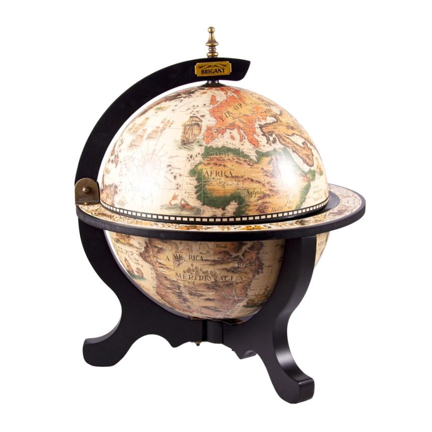 Глобус-бар Brigant напольный 47212 33 см