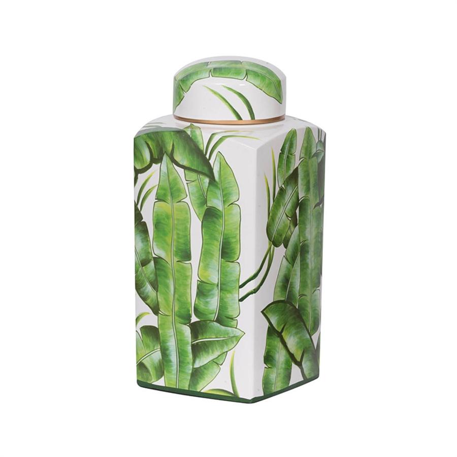 ваза с крышкой glasar 19x19x45 см Ваза Glasar с крышкой 17x17x36 см