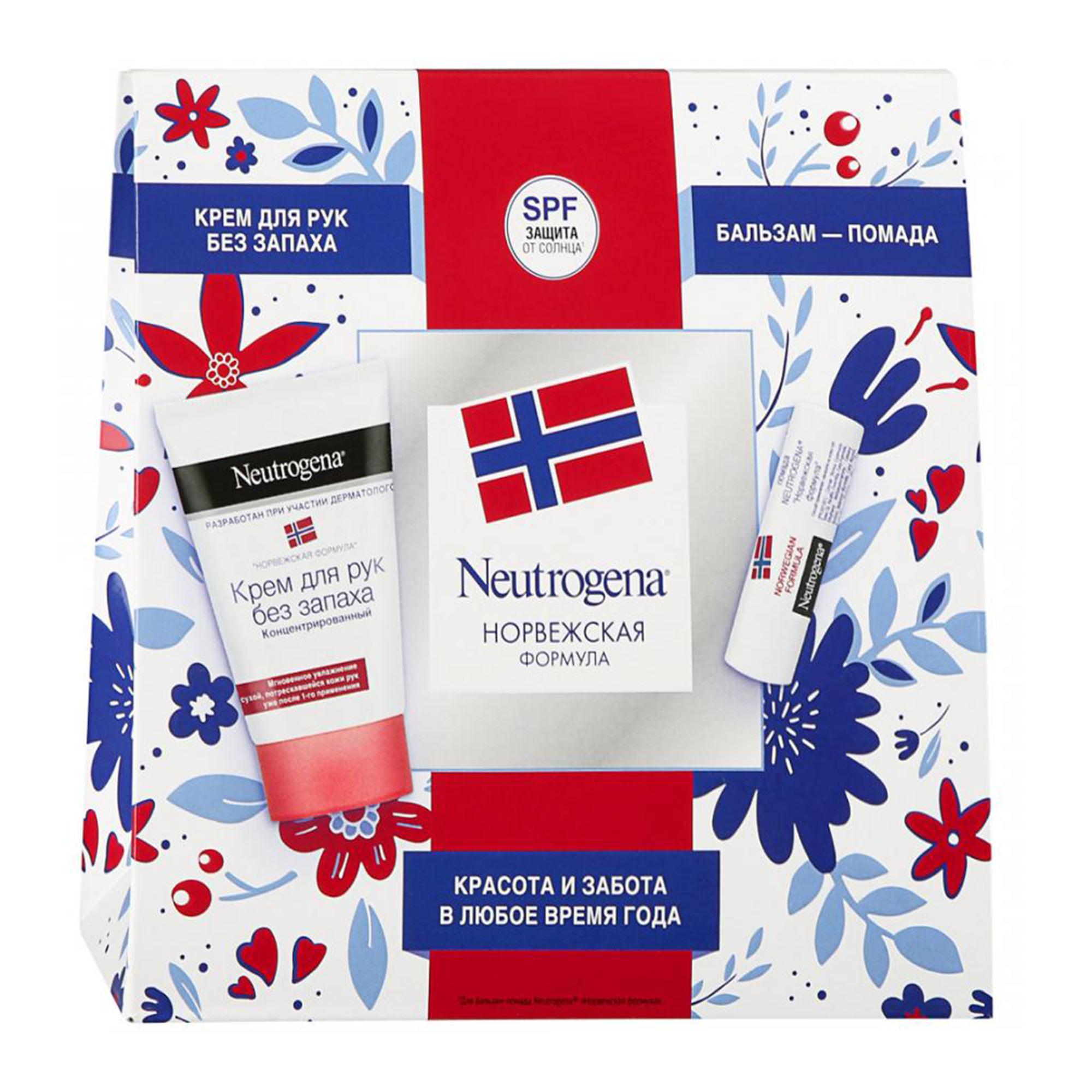 Набор Neutrogena Норвежская формула 28908 2 предмета neutrogena гигиениическая помада norwegian formula spf 20