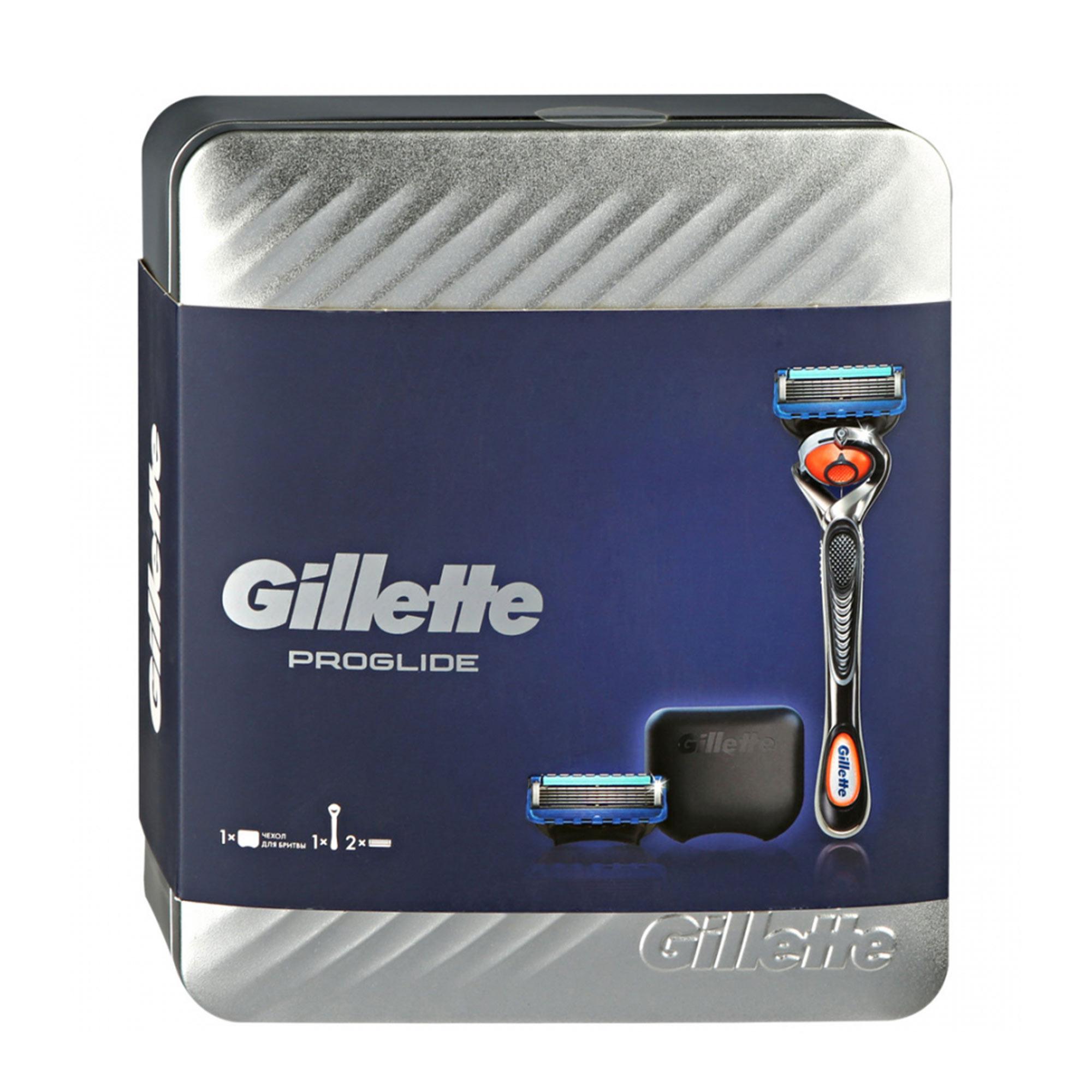 Фото - Набор подарочный Gillette Fusion ProGlide 4 предмета набор gillette fusion proglide flexball gil 81628134