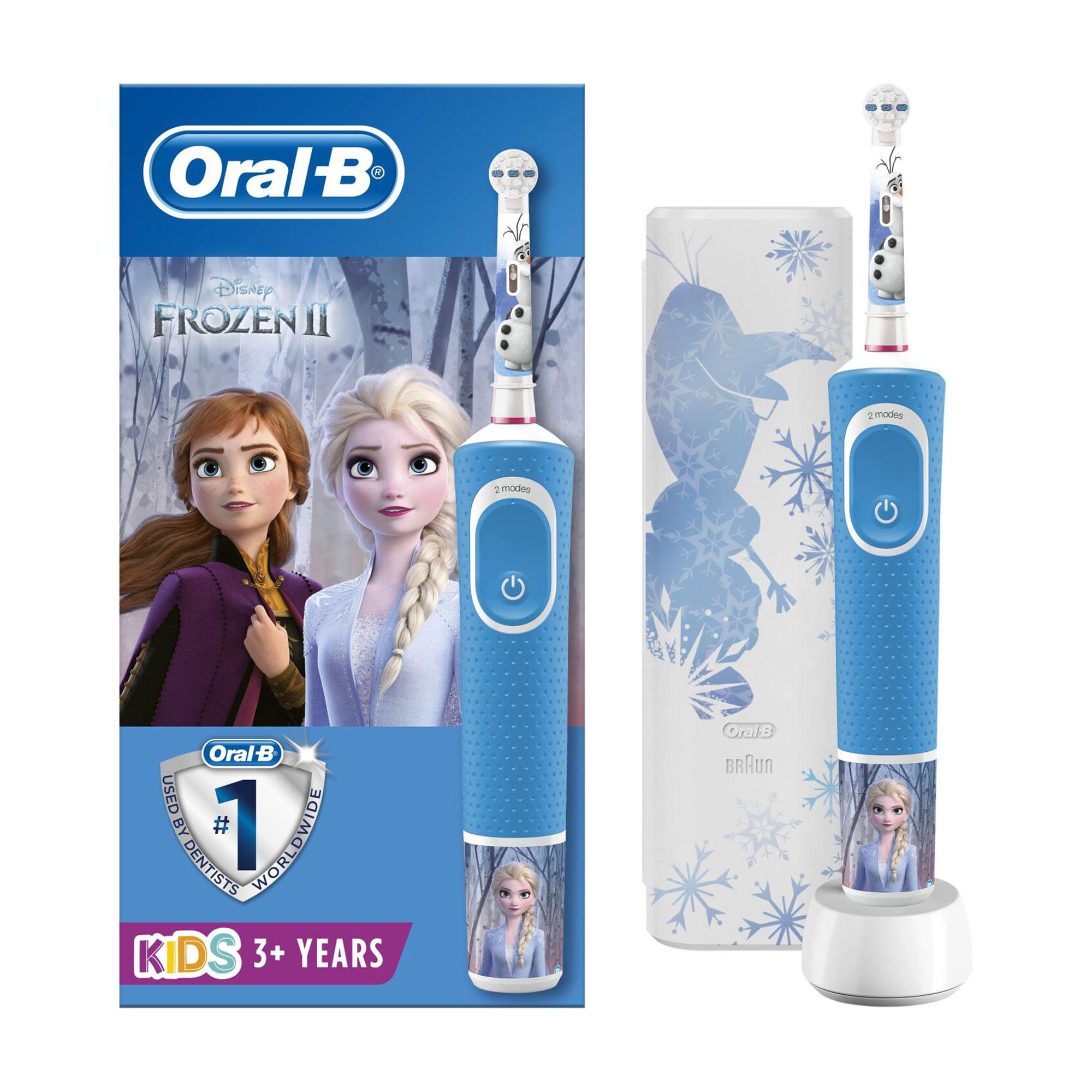 Набор Oral-B Kids Зубная щётка электрическая «Холодное Сердце 2»