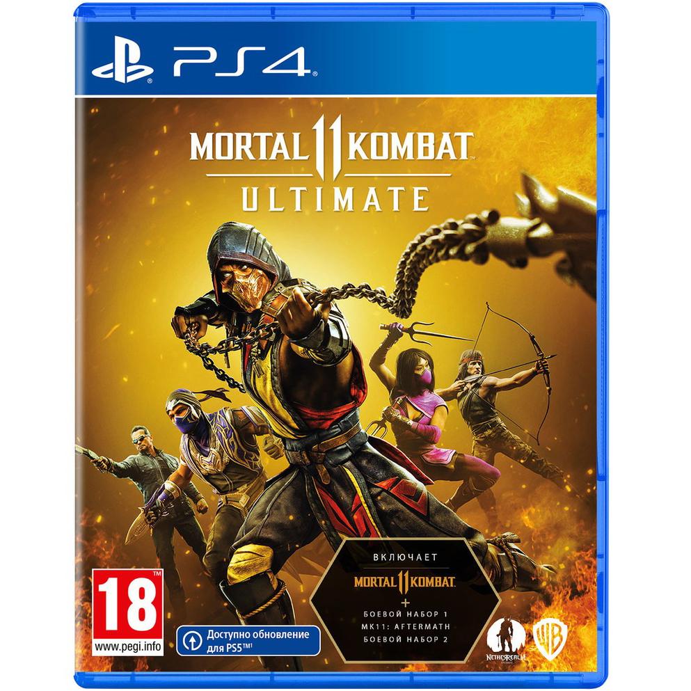 Игра для Sony PS4 Mortal Kombat 11 Ultimate русские субтитры