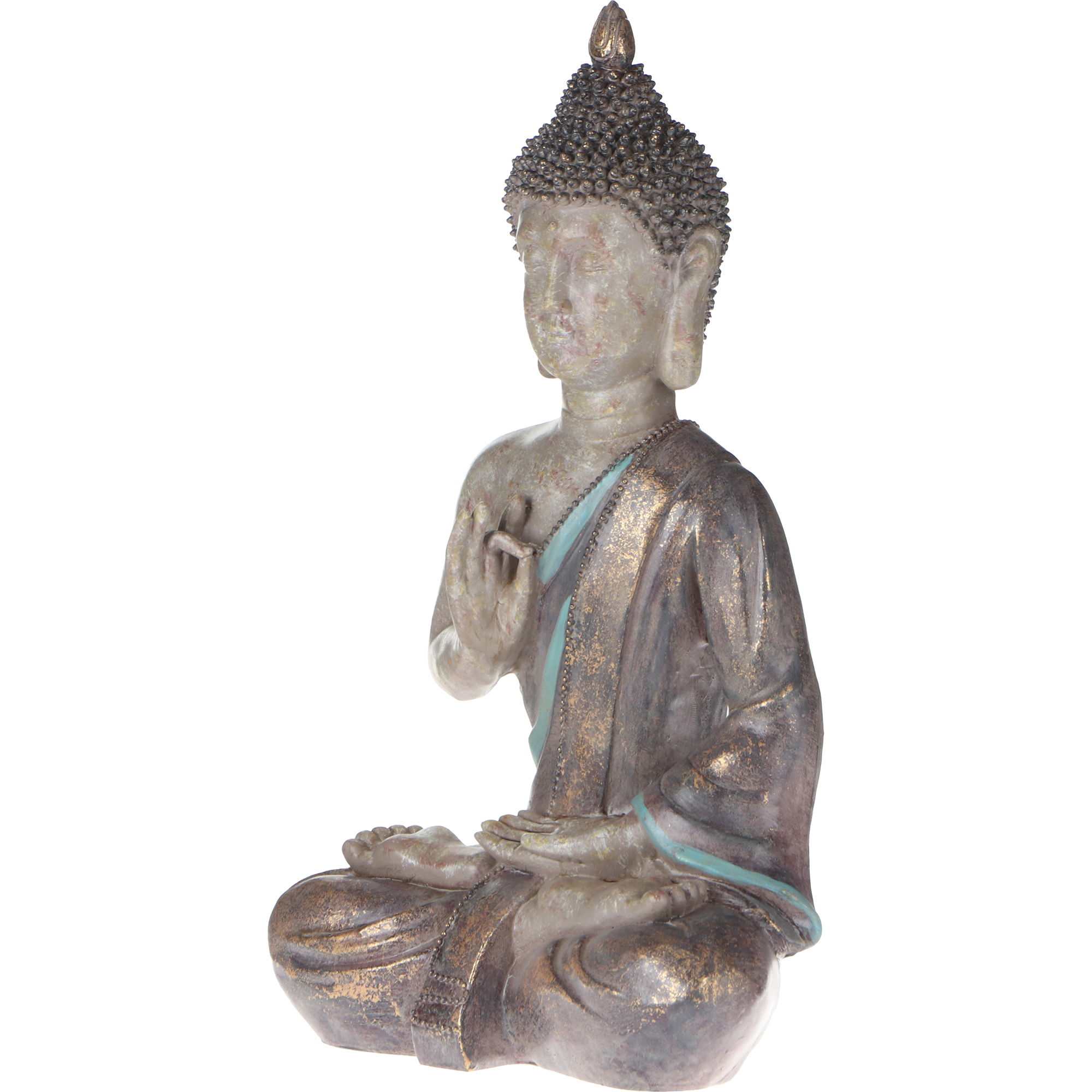Фото - Фигура декоративная Delux Quanzhou Будда золото 27.4х16.5х46 см фигура садовая декоративная dingsheng будда 47x25x70 см