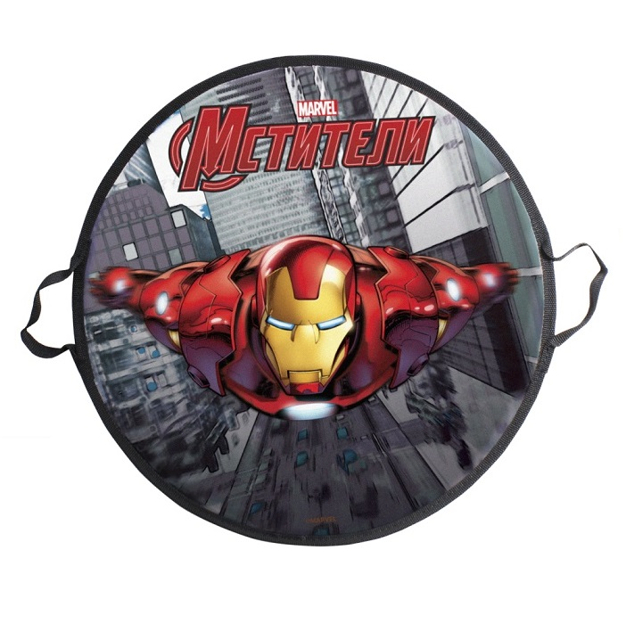 Ледянка Marvel Железный Человек 52См, Круглая