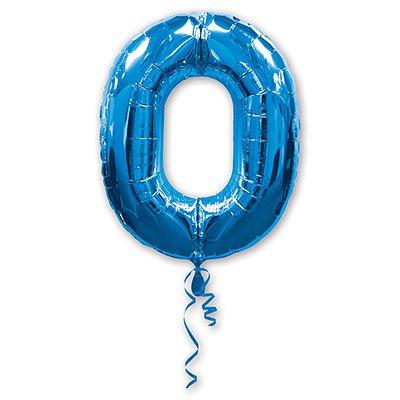 Шары Anagram Цифра а 0 blue