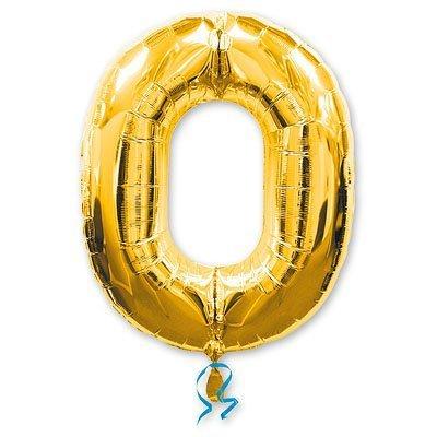 Шары Anagram Цифра а 0 gold