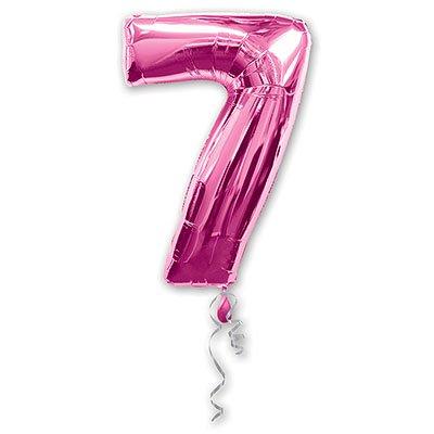 Шары Anagram Цифра а 7 pink