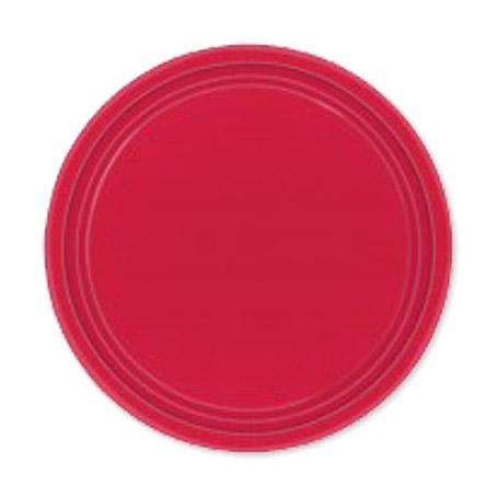 Набор тарелок Amscan Apple Red 17 см 8 шт amscan стакан me to you 270 мл 8 шт
